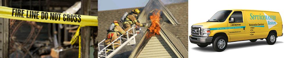 ServiceMaster fire damage restoration