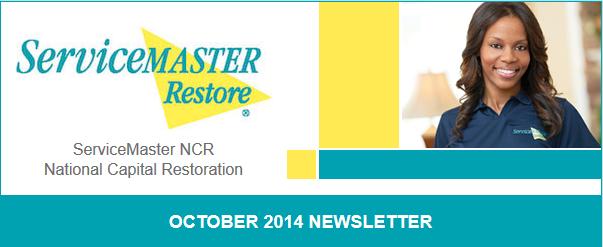 Servicemaster Ncr october newsletter