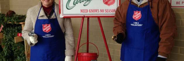 ServiceMaster NCR Helped the Salvation Army Raise Money over the Holidays with Red Kettles