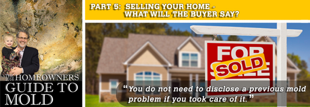 SELLING YOUR HOME - mold guide