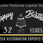 ServiceMaster NCR is Celebrating its Birthday – 32 Years in Business