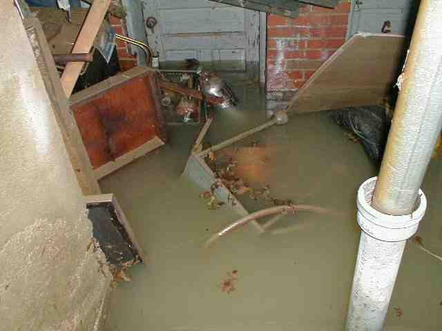 sump pump water damage