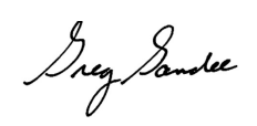 Greg Gandee Signature